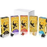 Consuelo - cápsulas de café compatibles con Nespresso* - Kit de degustación, 50 cápsulas (5x10)