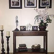 Amazon.com: Mesa de consola Linon, modelo Titian, en color ...