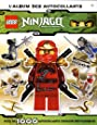 Lego ninjago, l'album autocollants