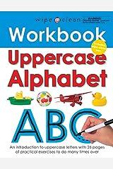 Wipe Clean Workbook Uppercase Alphabet (Wipe Clean Learning Books) Spiral-bound