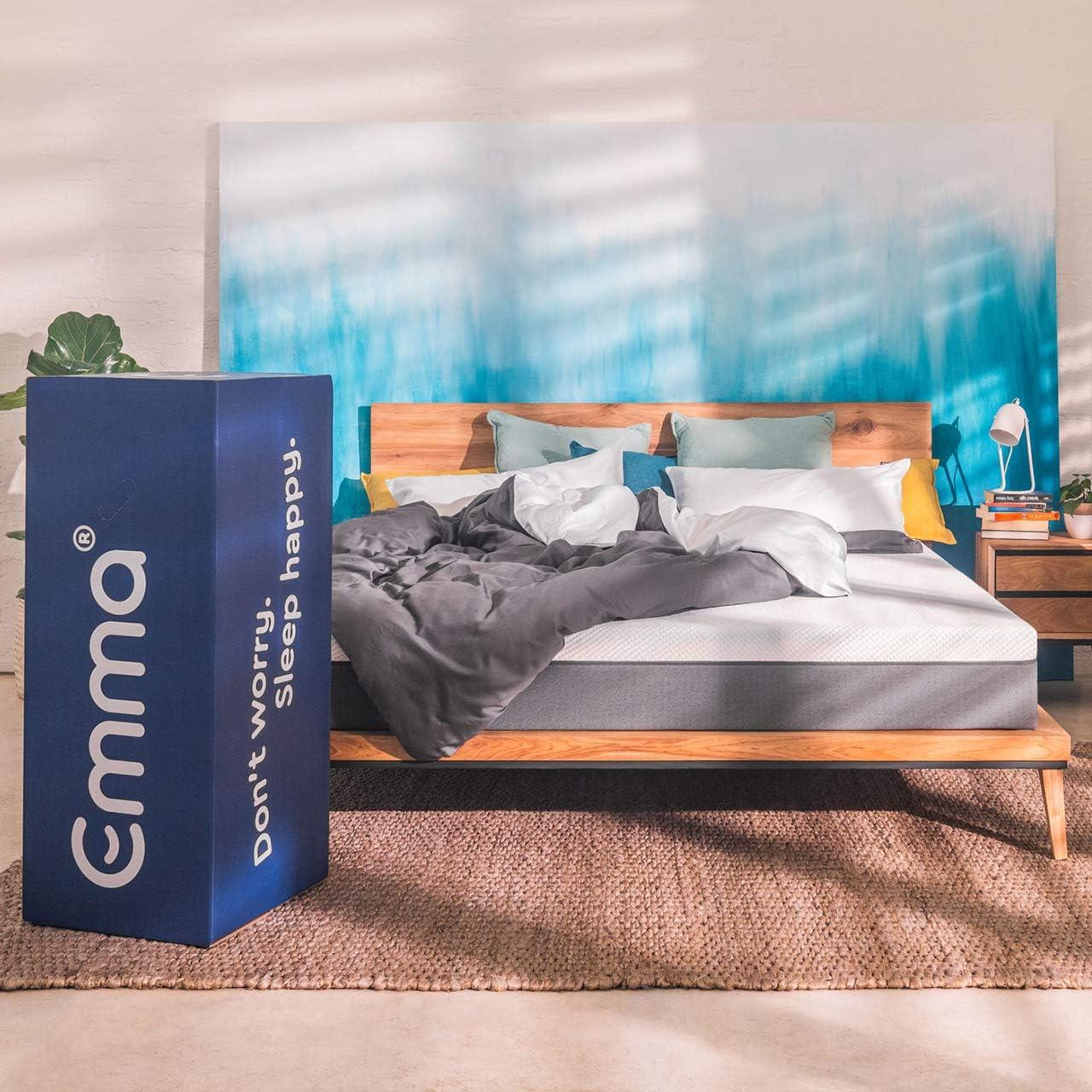 Colchón Emma Original, colchón más premiado de Europa, 100 Noches de Prueba, 10 años de garantía y envíos y devoluciones Gratis - 150x190cm