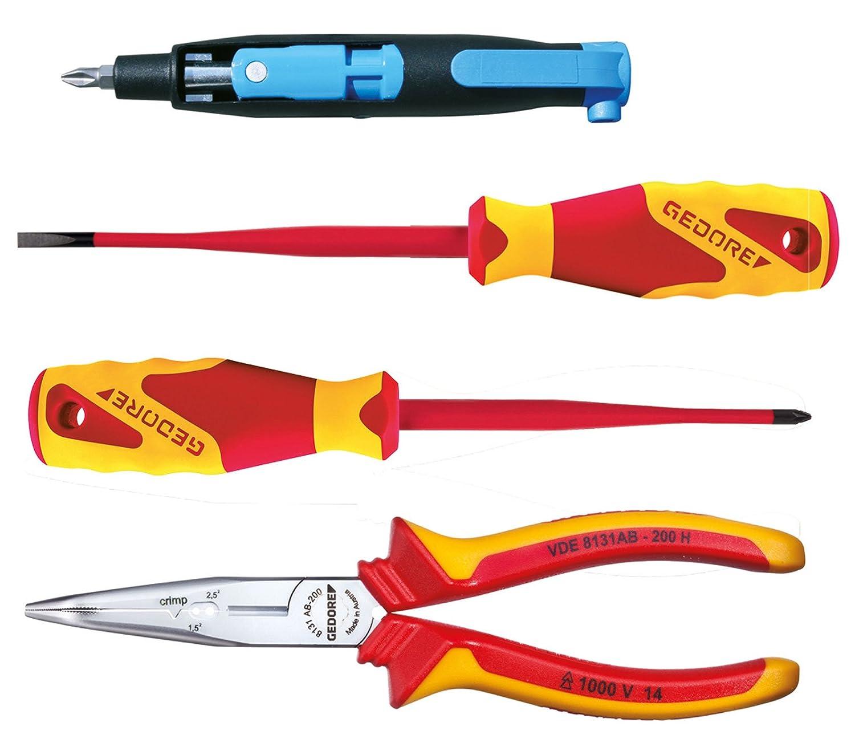 Gedore 1101-003 VDE Surtido de herramientas VDE 8 pzas