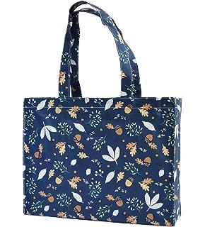 Foldaway Fab William Morris Style Fruit Design Shopping Bag
