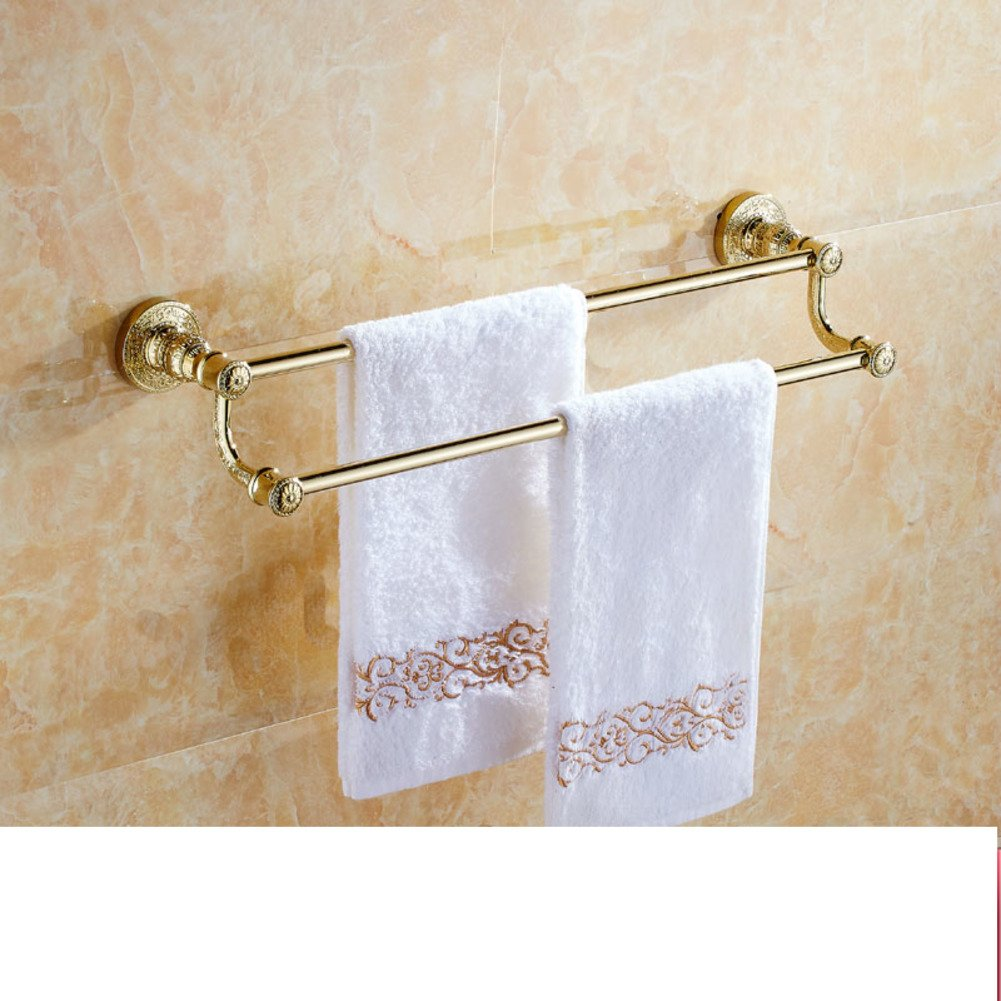 Continental Copper And Gold Towel Rack Towel Bar Bathroom Hardware Accessories European Style