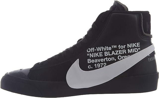 Accidenti preservativo dimenticare  Amazon.com | Nike Blazer Mid (Off-White) Grim Reaper | Shoes