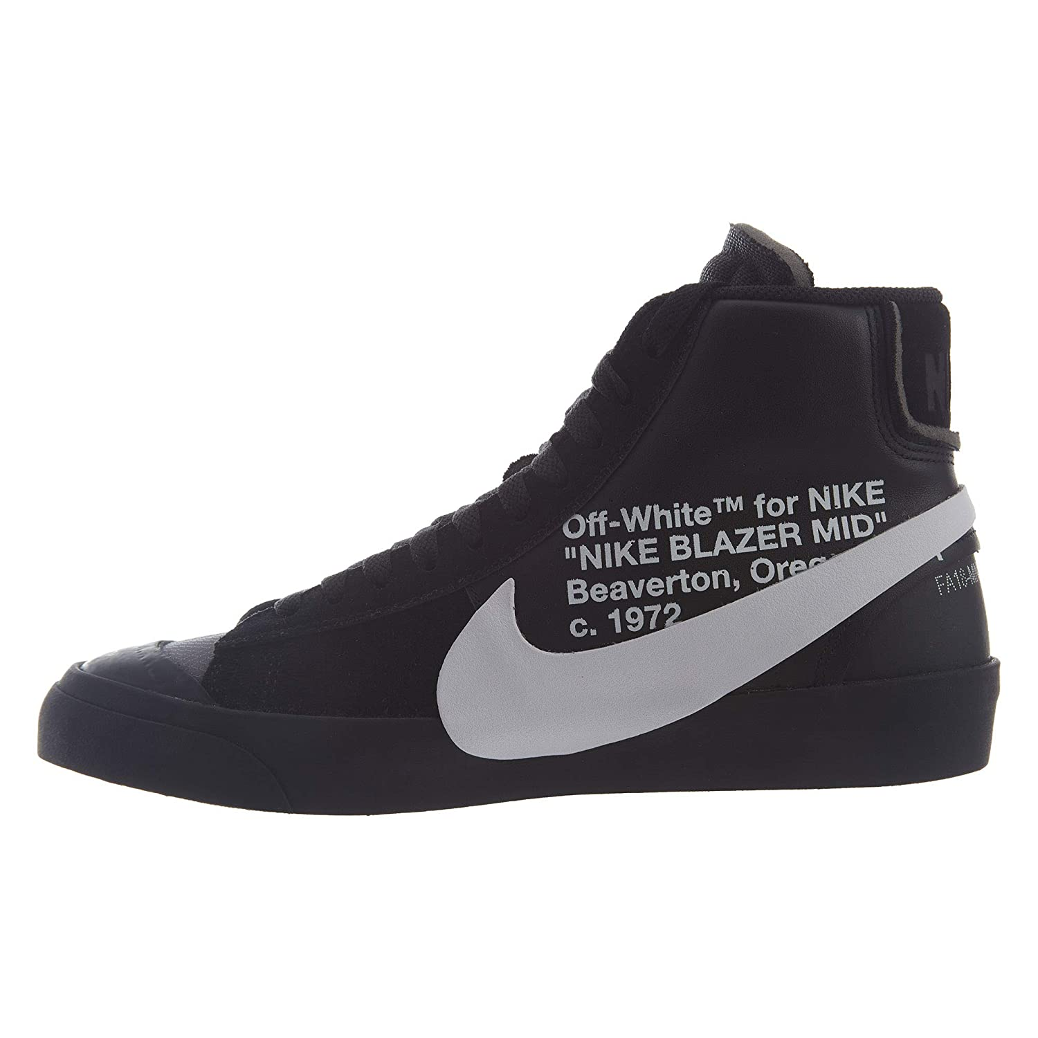 8a169745 ... release date. nikeu2060 launch cb948 d7b52; france amazon nike mens the  10 blazer mid grim reaper black white cone black leather shoes