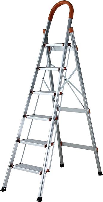 Escalera de aluminio superplana, escalera para el hogar, escalera ...