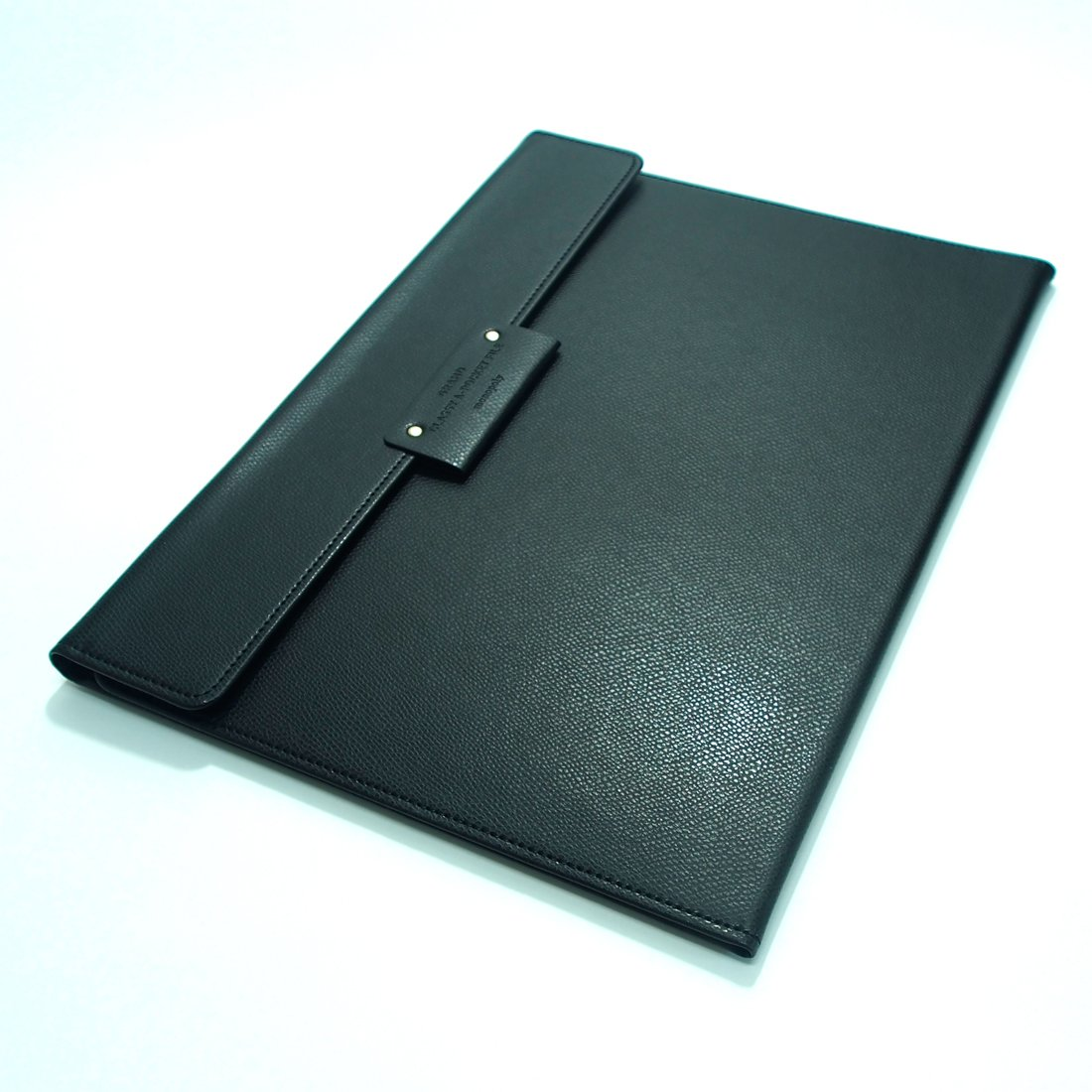 Grand Classy 8 Pockets File Holder with AHZOA Pencil (black) by Monopoly (Image #7)