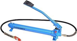 Pro-Lift-Montagetechnik Hydraulikpumpe, Hydraulikfußpumpe 600bar, 730cm³ Öltank, blau, J, 01452