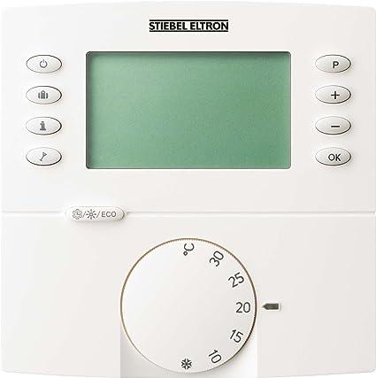 Stiebel Eltron - Radio termostato de ambiente src c progr digital. termostato de ambiente estación