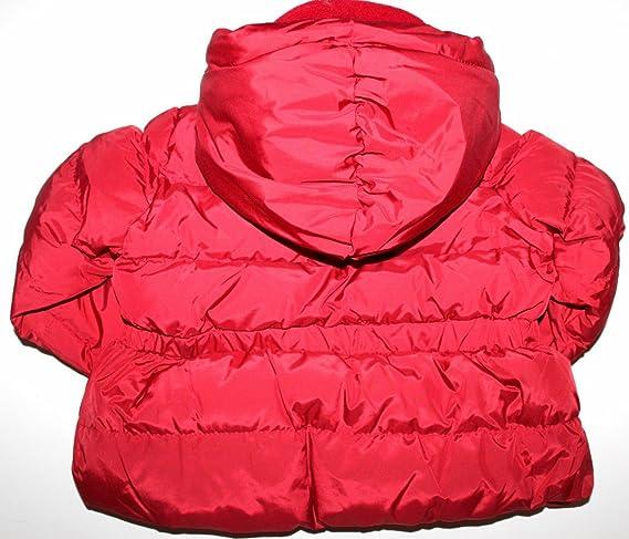 4ecd0549c Amazon.com  Baby Gap Infant Toddler Girl s Red Hooded Puffer Jacket ...