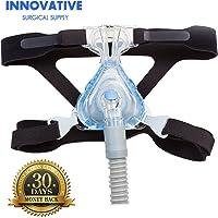 CPAP headgear-replaces respironics y correas de Resmed–Ultra Cómodo 4punto conexión Headgear correas para todos los tipos de máscaras–Compatible con la mayoría Apnea Masks (Máscara No Incluido)