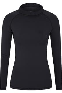 f0c1bdd5d Mountain Warehouse Womens Long Sleeve Rash Vest - SPF50+ Sun Protection  Ladies Rash…