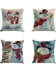 YEKEYI Pillowslip,Cushion Cover Pillow Cases Decorative Linen Square Pillow Covers for Home Office Sofa Couch Car