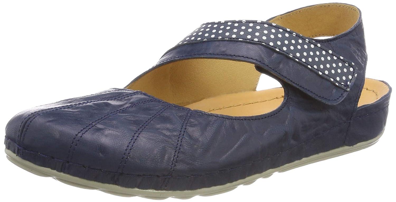 Dr. Brinkmann Damen-Sandale Blau 710845-5 Rot