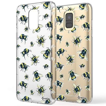Amazon.com: Carcasa de silicona para Samsung Galaxy A6 ...