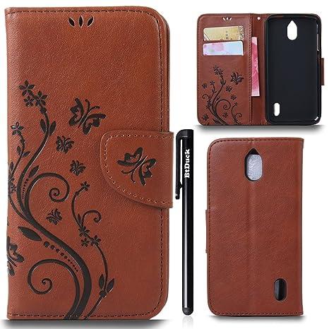 btduck - Carcasa para Huawei Y625 Flip Case Cover Wallet ...
