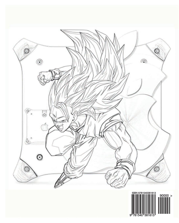 DragonBall Z Coloring Book Series Vol10 Endo Sano 9781540381613 Amazon Books