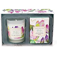 Michel Design Works Water Lilies Candle and Soap Gift Set, Water Lilies