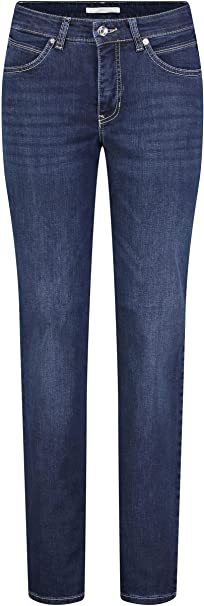 TALLA 34W / 28L. MAC Jeans Melanie Vaqueros Straight para Mujer