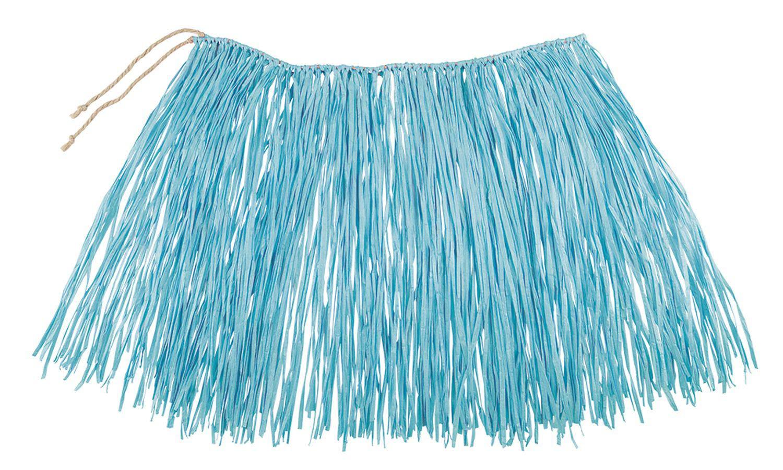 Boland – Rafia Falda Hawaii, Color Azul, 52233: Amazon.es ...