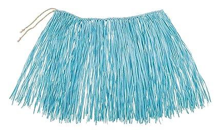 Boland - Rafia Falda Hawaii, Color Azul, 52233: Amazon.es ...