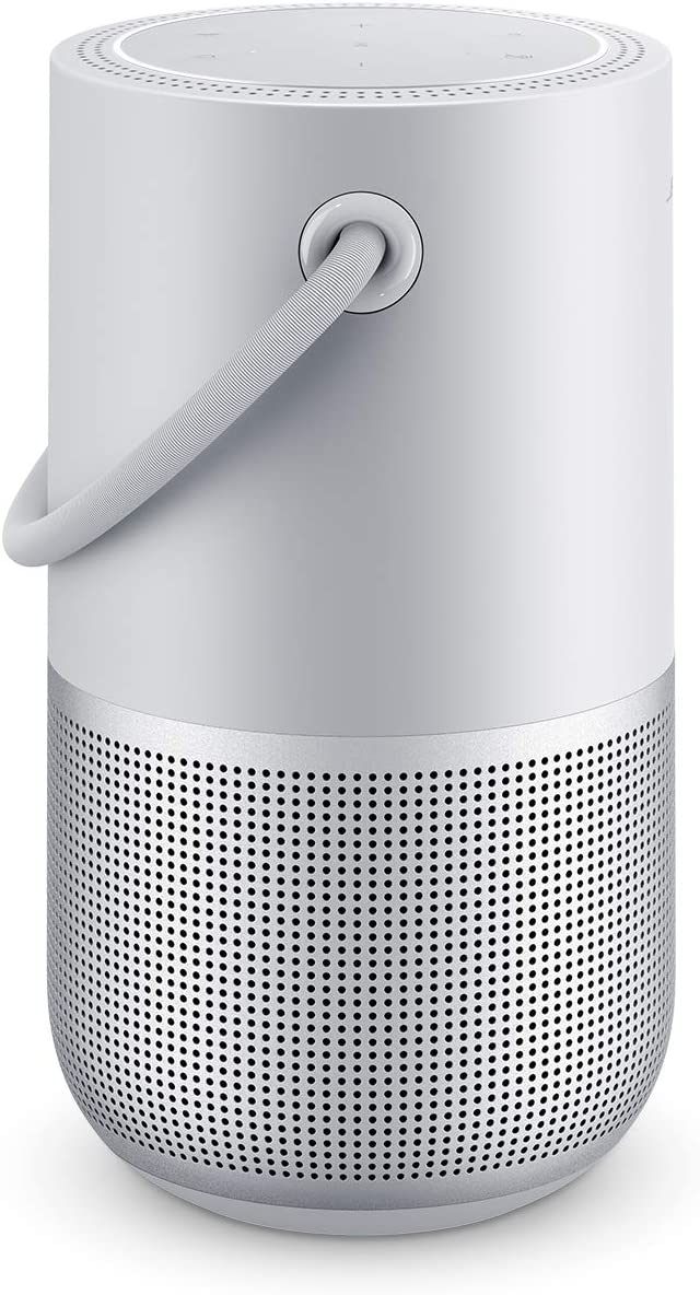 Bose Portable Home Speaker — with Alexa Voice Control Built-In, Luxe Silver
