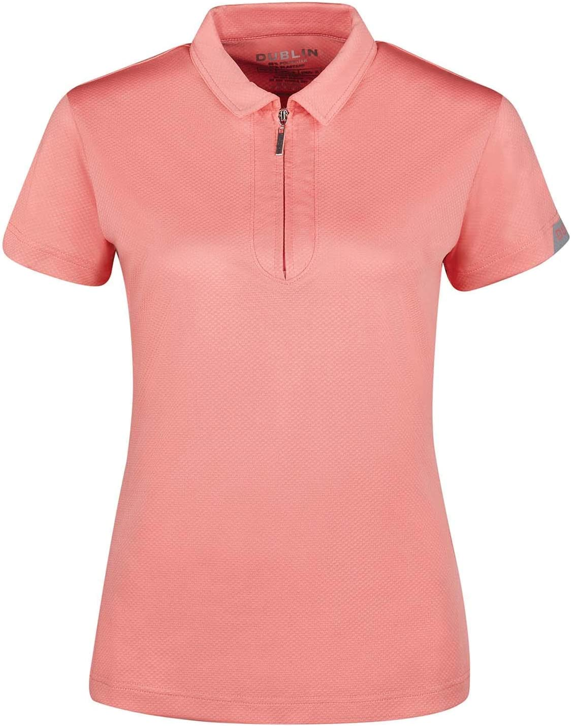 Dublin Polo Mujer Columba Tech Manga Corta Rosa: Amazon.es ...