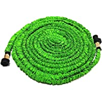 Wingogh Expandable Garden Hose - All New 25ft 50ft 75ft Expanding Garden Water Hose, Flexible Pressure Garden Hose with Brass Fitting & Triple Layer Latex Core & Latest Improved Extra Strength Fabric