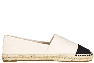 Tory Burch women's espadrilles slip on shoes white US size 7 51158913 194