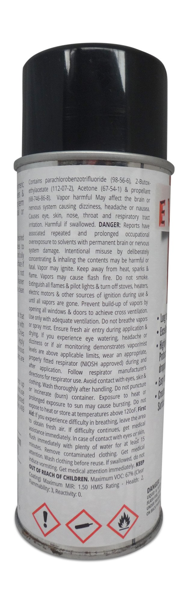 EVERBRITE 12 Oz. Aerosol Clear, Protective Coating for Metal by EverBrite (Image #4)