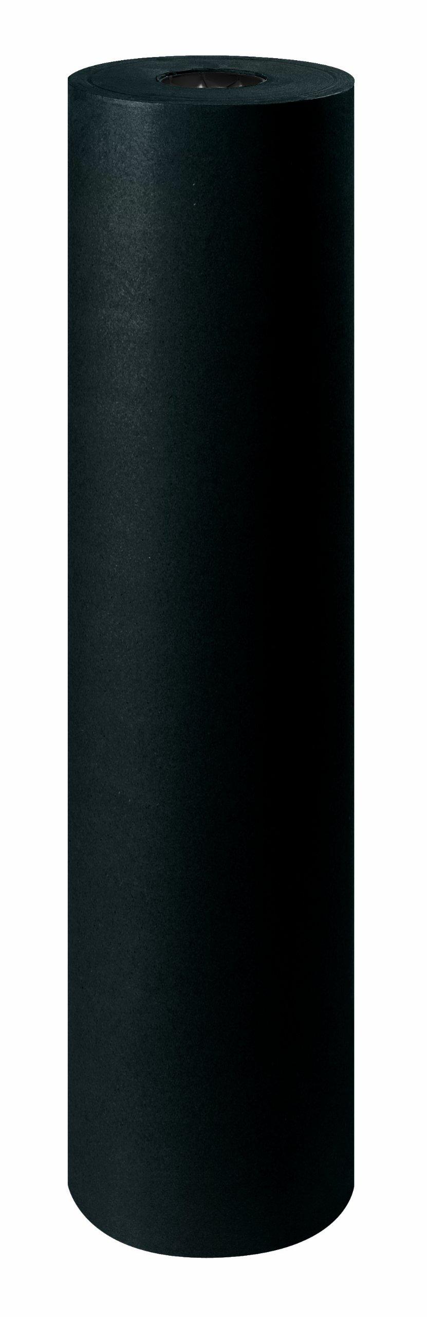 Aviditi KP2450BK 50# Kraft Paper Rolls, 24'', Black