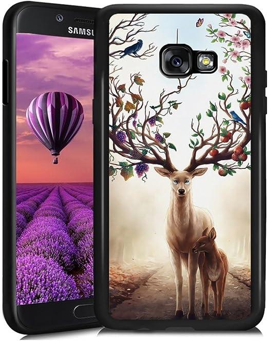 ChyFS Coque de protection en TPU pour Samsung Galaxy A5 2017 Motif ...