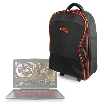 DURAGADGET Maleta de Ruedas para Viajar para Portátil Lenovo Y520-15IKBN, Lenovo IdeaPad 110-15 / HP OMEN 15-ce012ns, Medidas de Equipaje de Mano.