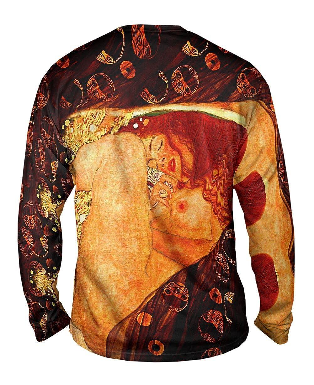 Danae 1907 Yizzam- Gustav Klimt -TShirt- Mens Long Sleeve