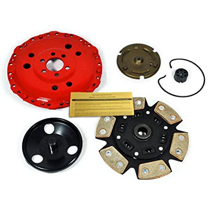 Amazon.com: EFT RACING STAGE 3 CLUTCH KIT VOLKSWAGEN VW CABRIO GOLF GTI JETTA 2.0L SOHC MK3: Automotive