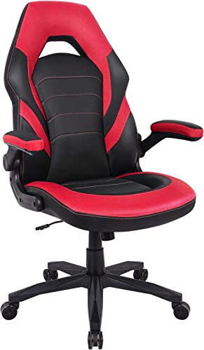 RIMIKING Gaming Chair Racing Computer Desk Executive Office Chair