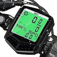 BIFY Fahrradcomputer Bike Kilometerzähler Fahrradtacho Kabellos 18 Funktionen Wasserdichte LCD Geschwindigkeit Radcomputer