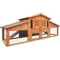 i.Pet Chicken Coop 2 Storey Wooden Rabbit Hutch 169cm hutch i.Pet