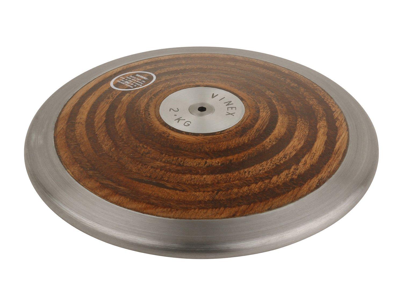 1,50 kg Vinex Lancer du disque 1,00 kg bois 2,00 kg 0,75 kg pour les comp/étitions et lentra/înement 1,75 kg disque /à lancer