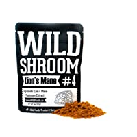 Lion's Mane Mushroom Extract 10:1 Superfood Powder by Wild Foods | Fruiting Bodies...