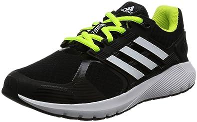 103110070ed Adidas Unisex Duramo 8 K Cblack, Ftwwht and Syello Sneakers - 3 UK/India
