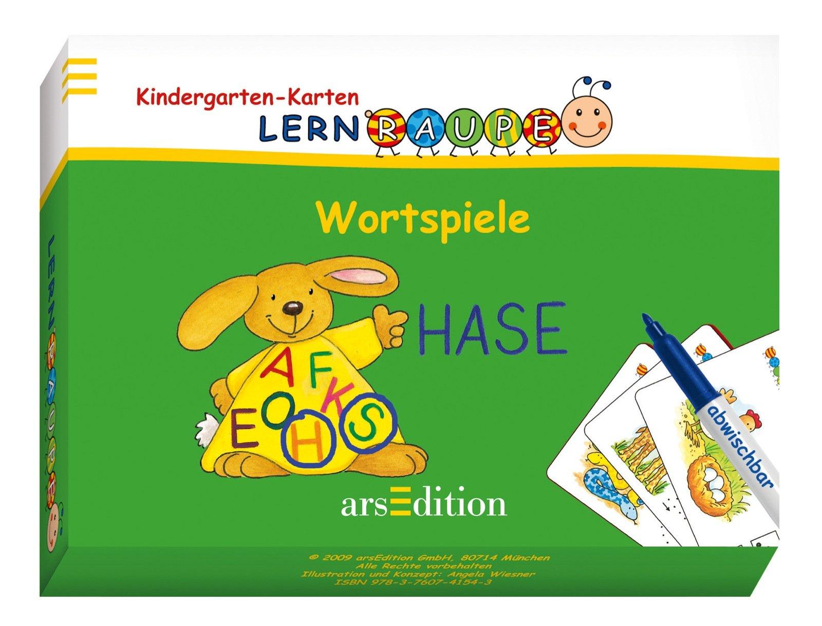 Lernraupe - Wortspiele (Kindergarten-Lernraupe)
