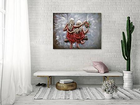 Kunstloft Extravagante Relieve de Pared de Metal Same but ...