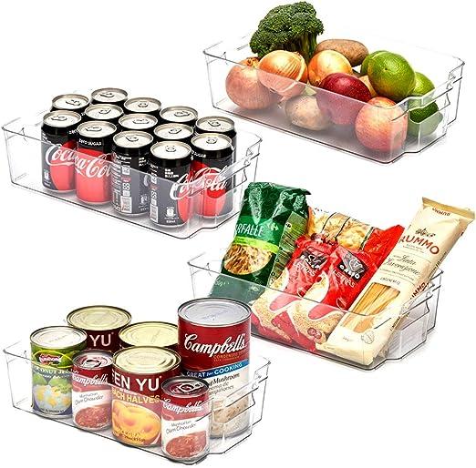 EZOWare Organizador de Cocina, Grande Cajas de Almacenaje ...