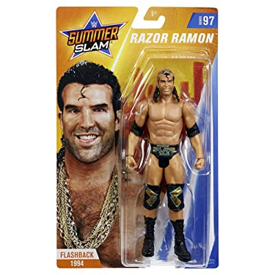 WWE SummerSlam Razor Ramon Action Figure: Toys & Games