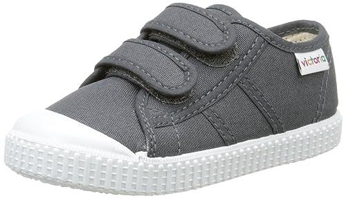 Victoria Basket Lona Dos Velcros - Zapatillas Unisex niños