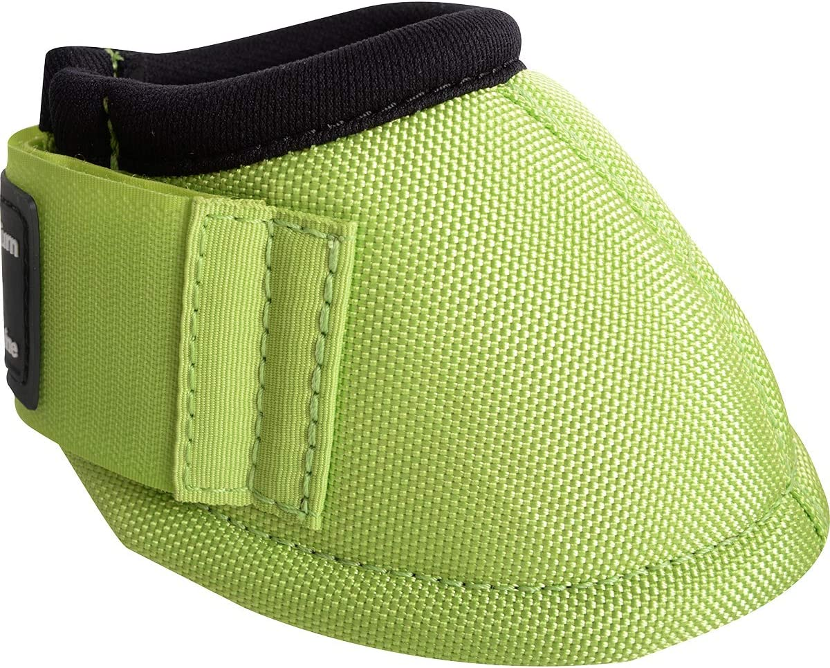 Classic Equine Dyn-No Turn Overreach Boots Lime