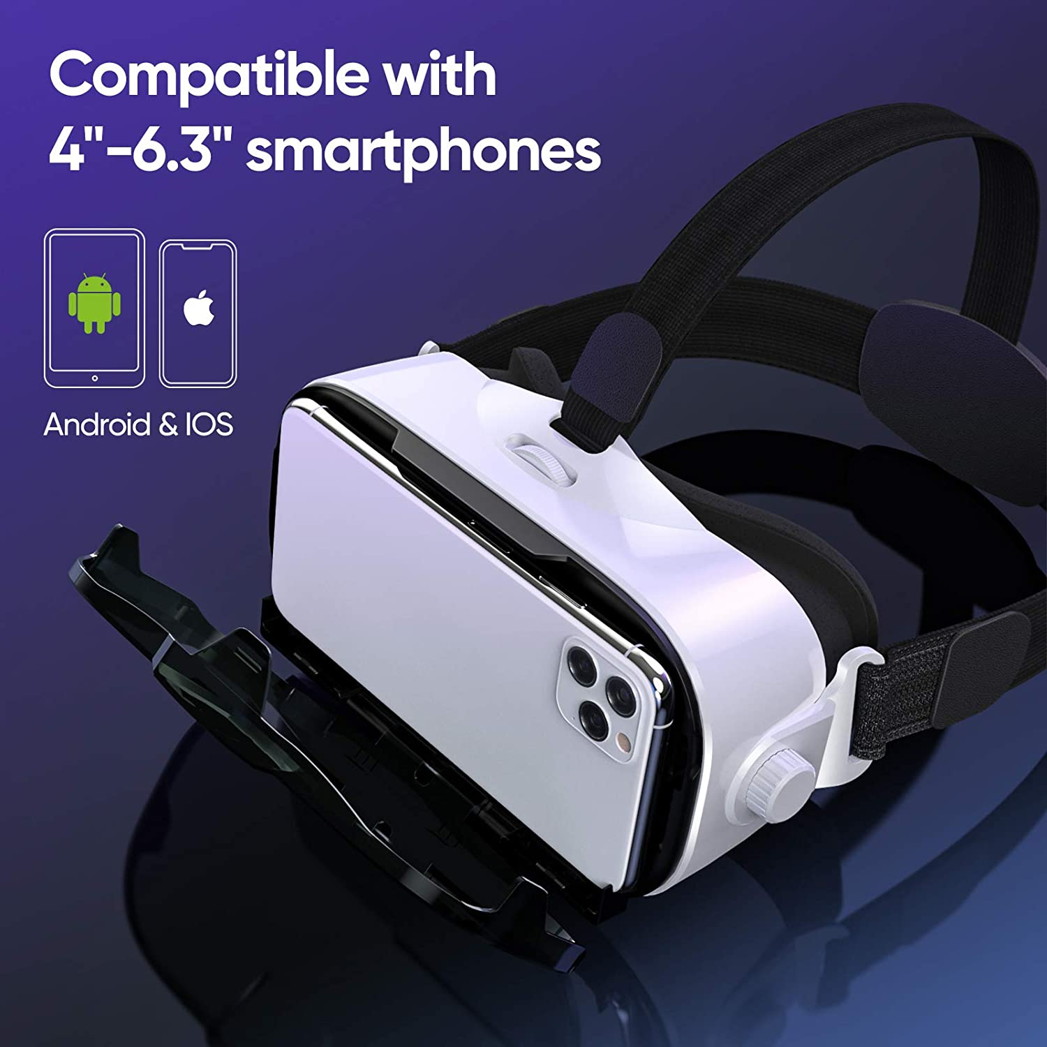 Vr Headsets 3d Vr Brille All In One Mit Hifi Kopfhorer 3d Virtual Reality Brille Touch Control Hdmi Mobil Kino Fur Pc Liao Vr Headset Elektronik Foto Impas Es