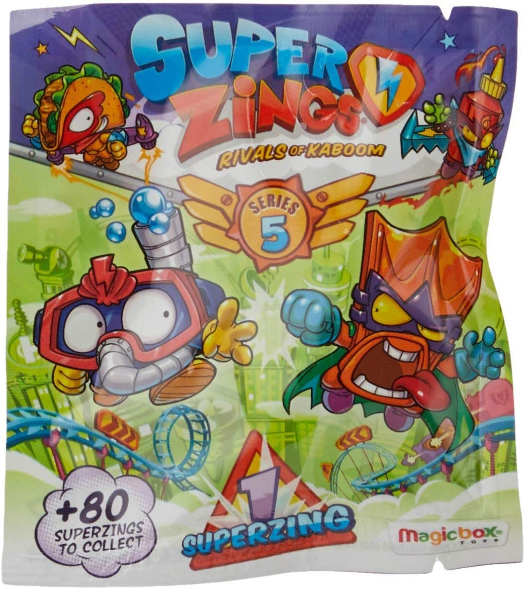 SuperZings Serie 5 -sobre Individual: Amazon.es: Juguetes y juegos